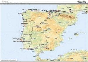 Carte trajet RAF 2014 paysage