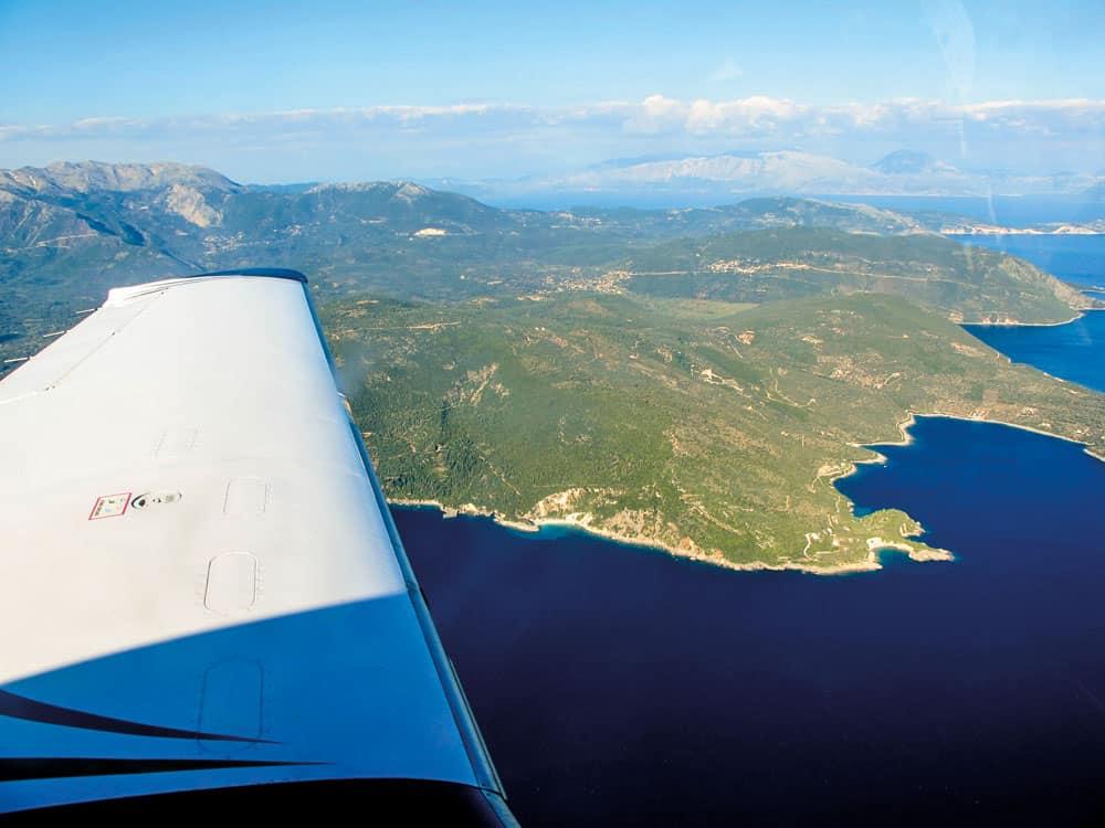 Carnet 500_Vue de l'Avion Aile a Gauche